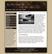 Expression Web Mobile Friendly Site Templates